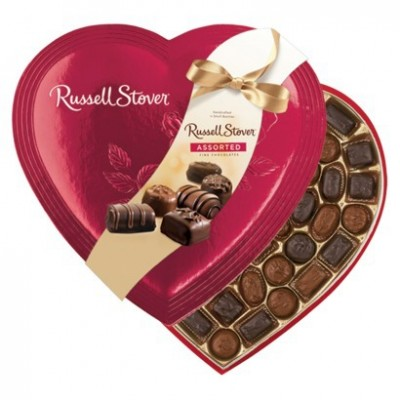 Russell Stover Valentine Assorted Fine Choco 397gm