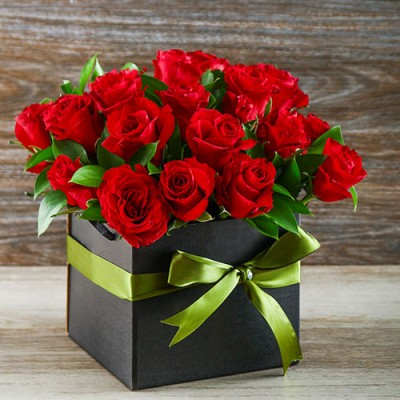 Box of Red Rose