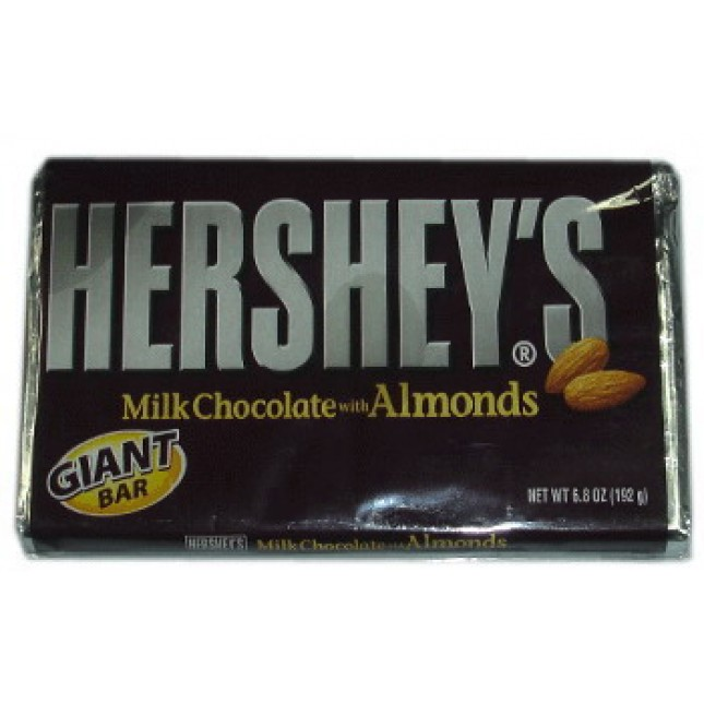 Hershey Giant Milk Chocolate w/ Almond