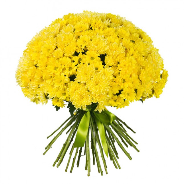 Its All About Mums (yellow bouquet)