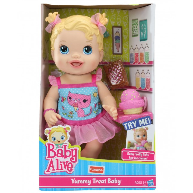 Baby Alive Yummy Treat Baby