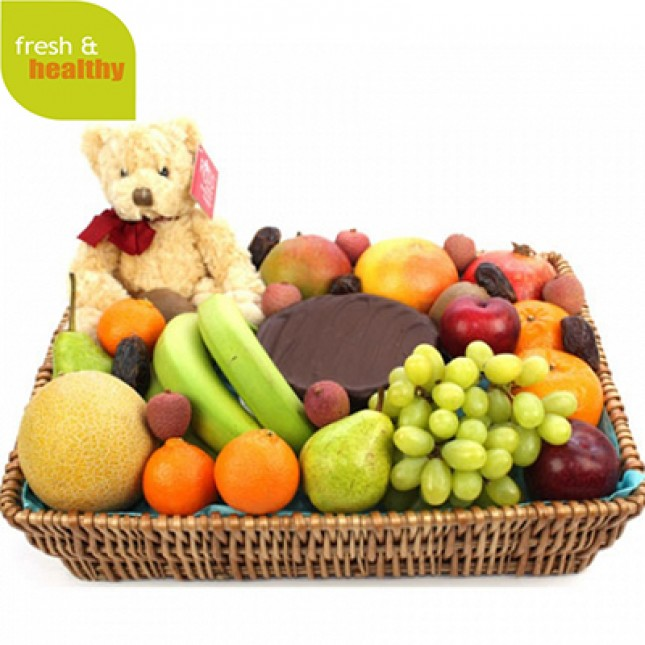 Premium Celebration Fruit Basket
