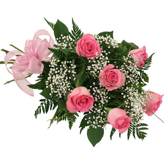Myregalo - Half Dozen Roses Bouquet, Romantic Bouquet philippines ...