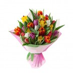 15 Stems of Assorted Tulips