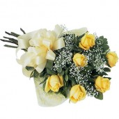 Half Dozen Rose Bouquet