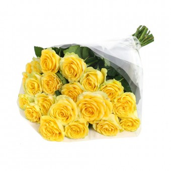 20 Stems of Imported Roses Yellow