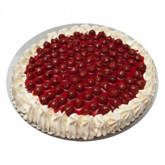 Cherry Torte Cake by Cuerva Bakeshop