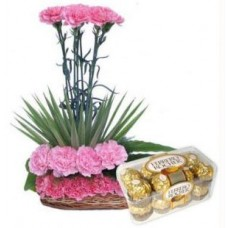 Carnation Design N Rocher Chocolate Box