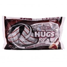 Hershey's Hugs Milk Chocolate Hugged by Sweet White Cream